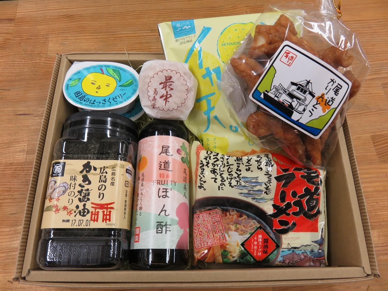 例:尾道ギフト2,500円(税別)